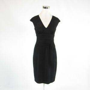 Kay Unger black empire waist dress 4